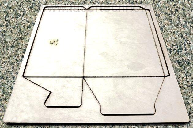 Вырубной штамп. Упаковочная Коробка