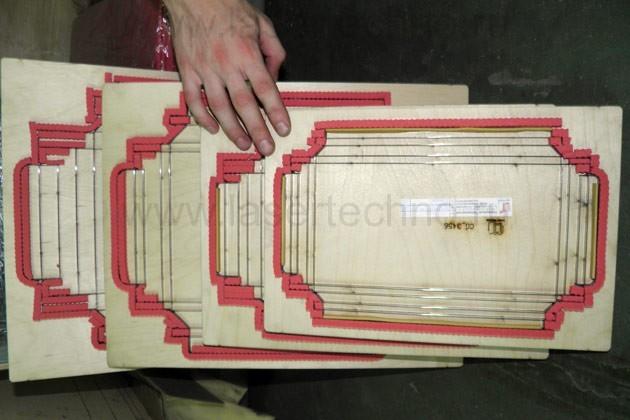 Вырубной штамп. Коробка