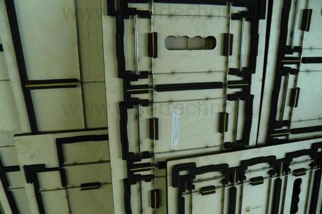 Вырубной штамп. Гофрокороб