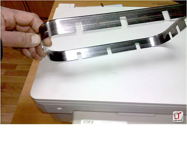 Нож для вырубки упаковки из ВПС